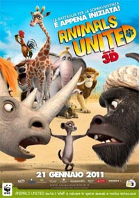 Locandina animals united 3d