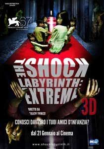 Locandina del film in 3d - The Shock Labyrinth: Extreme 3D